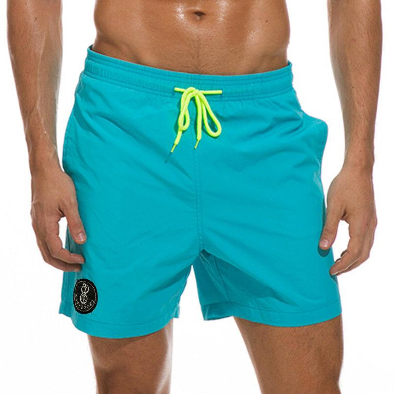 Mens Casual Swimwear Surf Beach Board Shorts Bikini Swim Tro