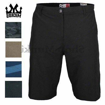 mens hybrid lightweight casual walking board shorts