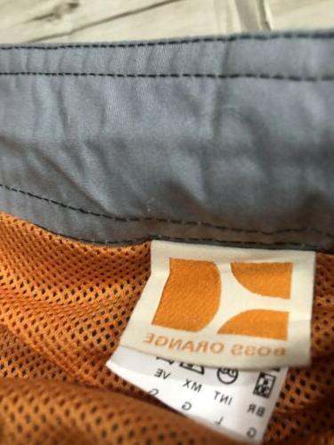 HUGO BOSS NEW NWOT Quick Dry Contrast Gray