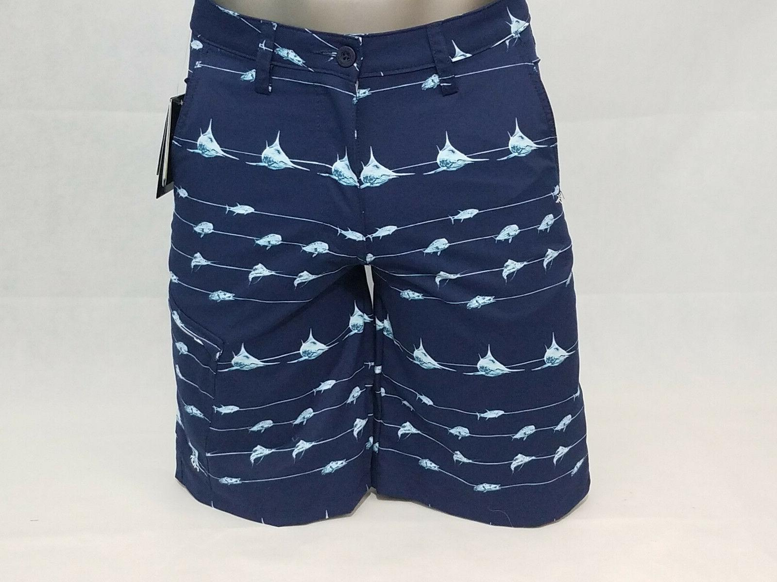 mens performance fishing hybrid swim board shorts