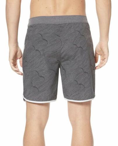 Mens 18 Inch Shorts Swim Gray 890795 407 NWT
