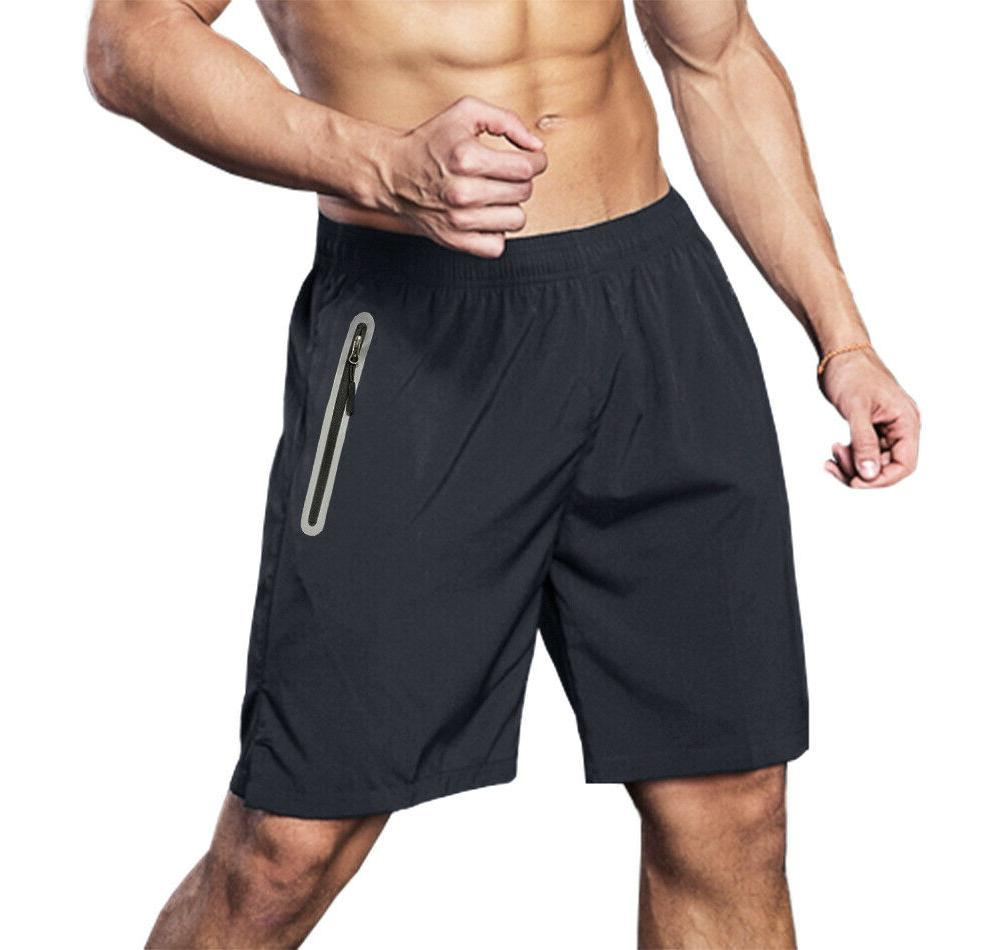 Quick Dry Reflective Running Jogger Board Shorts
