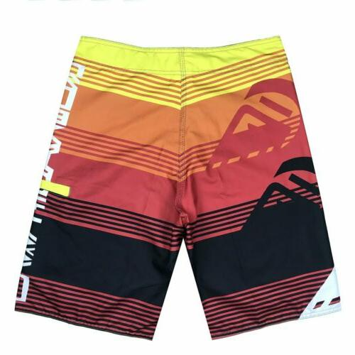 Mens Surf Board Swim Wear Swimsuit