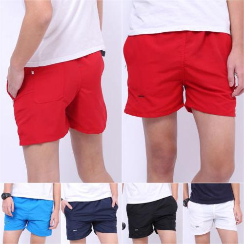 Mens Swimming Board Summer Sport Boxer Swimsuits