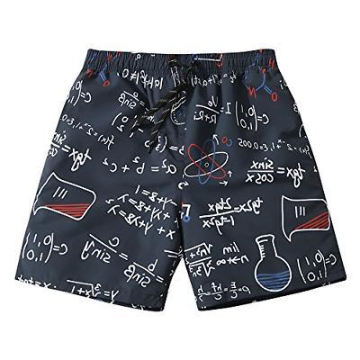 Mens Ultra Quick Dry Geek Formula Fashion Board Shorts Small
