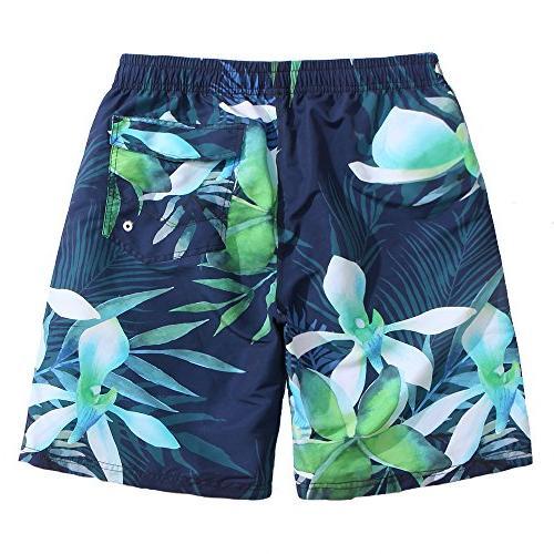 Mens Orchid Canvas Shorts