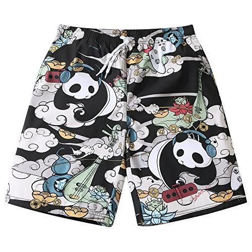 mens ultra quick dry panda musician fashion