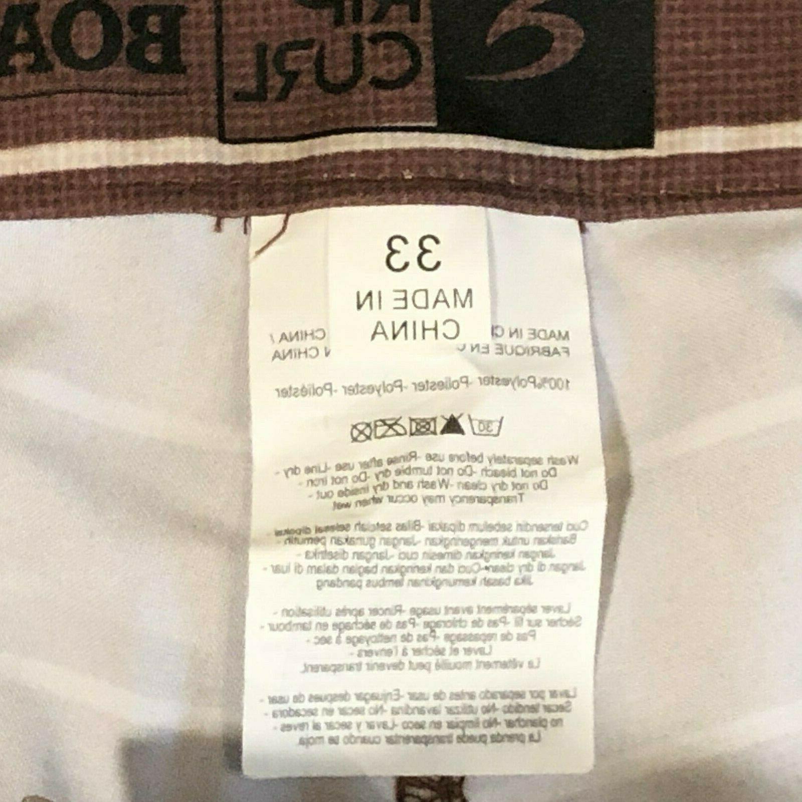 RIP CURL Hybrid Shorts Boardshorts & Brown 33