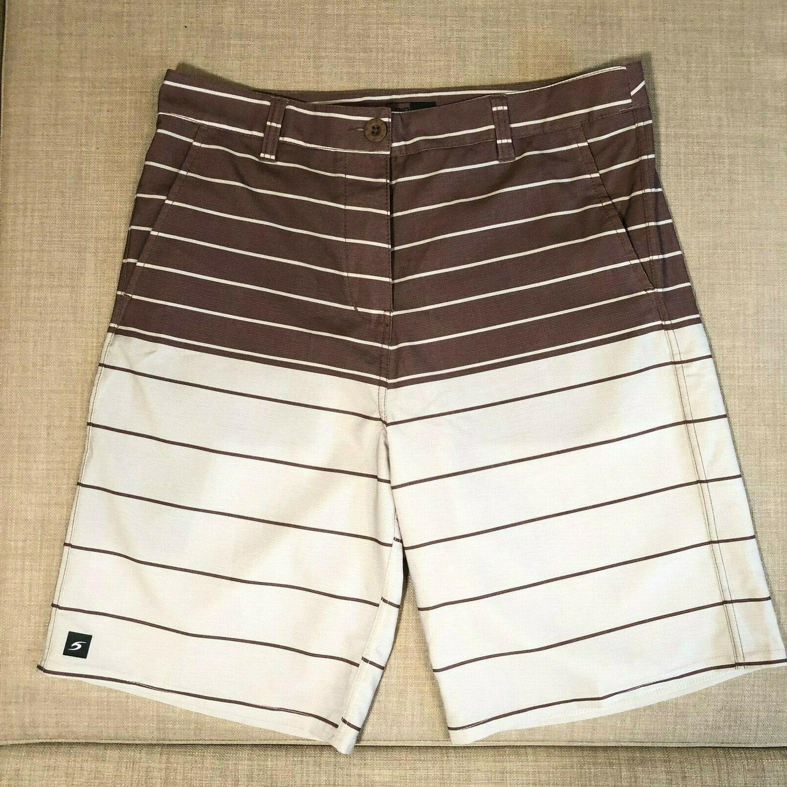 mirage boardwalk hybrid shorts boardshorts tan