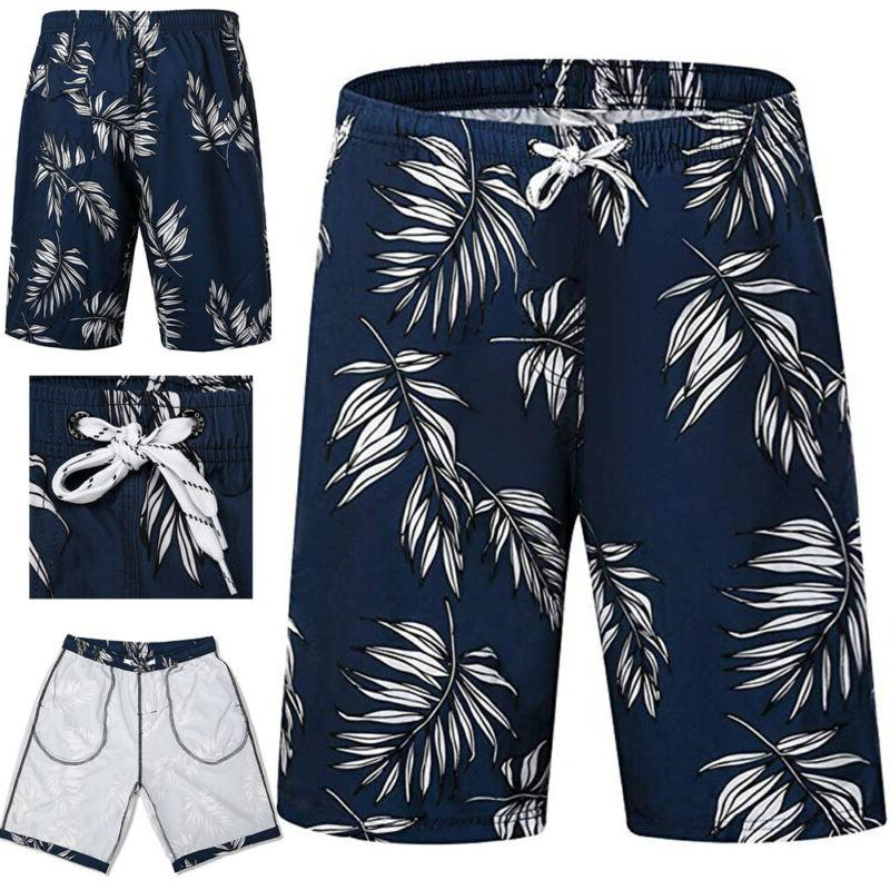 LO 2019 Swimming Board Shorts Swim Running Short Swimwear Summer