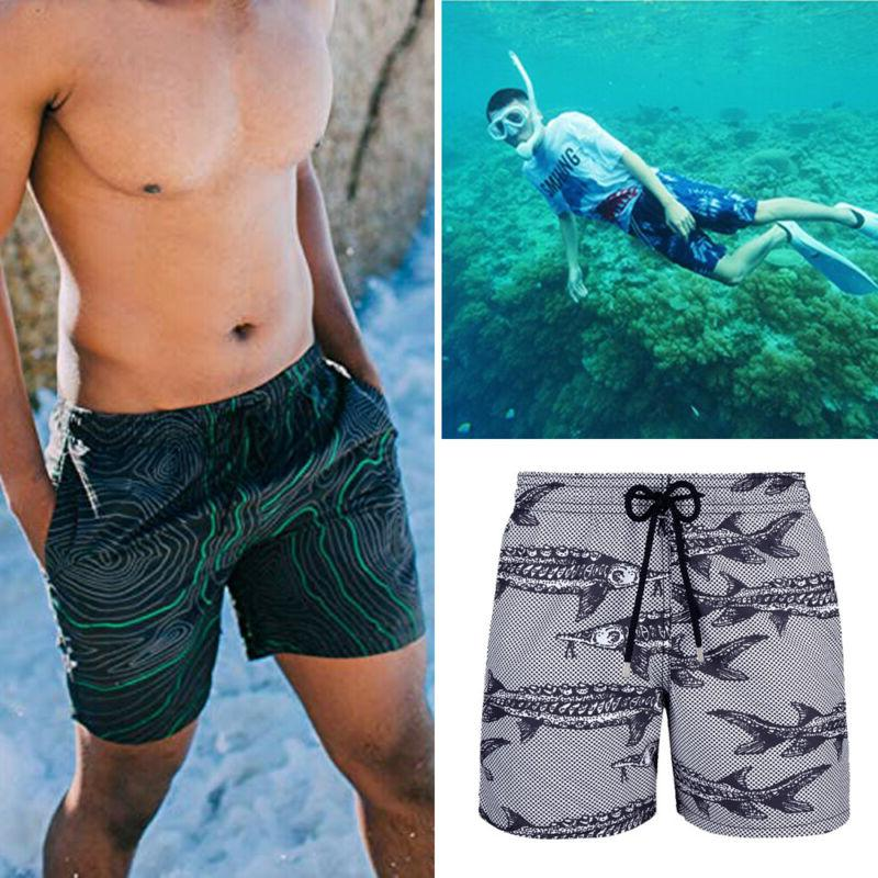 LO 2019 Board Short Trunk Swimwear Beach Summer