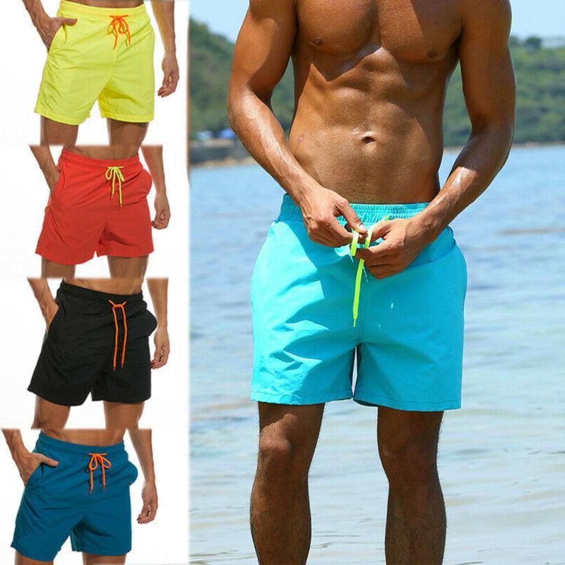 New! Mens Swimming Board Shorts running Shorts Trunks Swimwear Summer