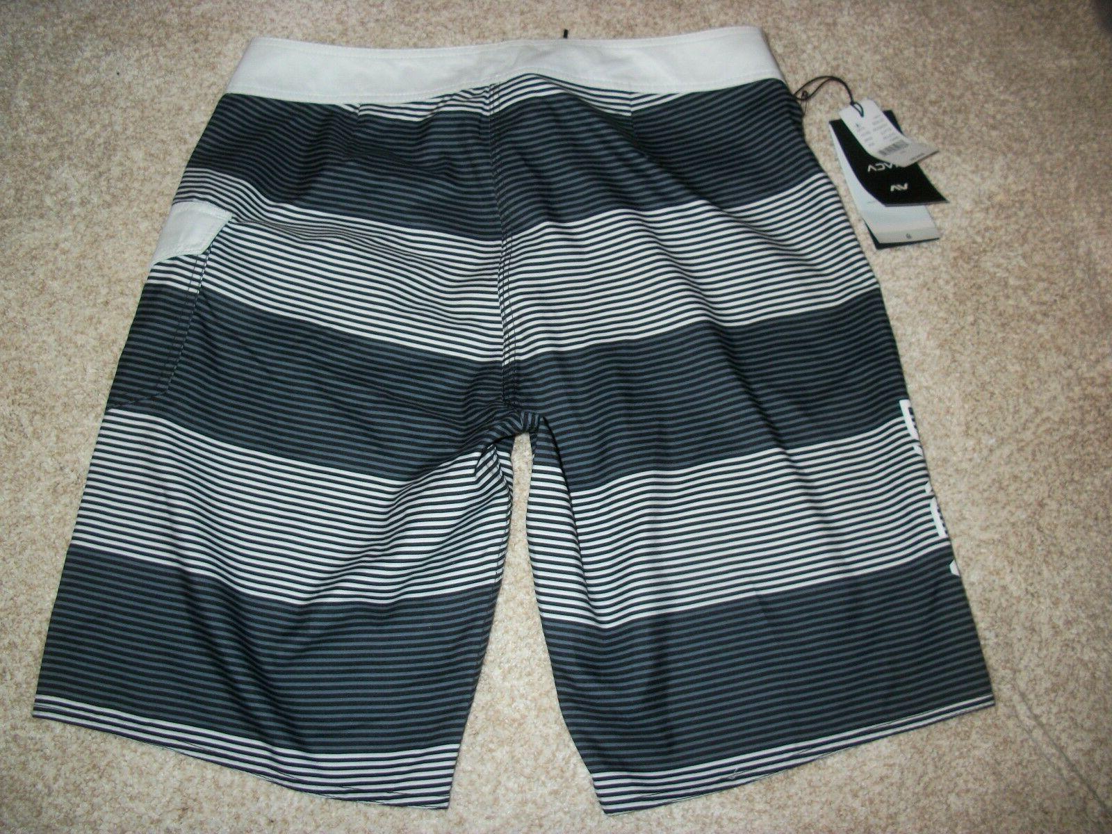 RVCA Board Swim Gray Stripe 33
