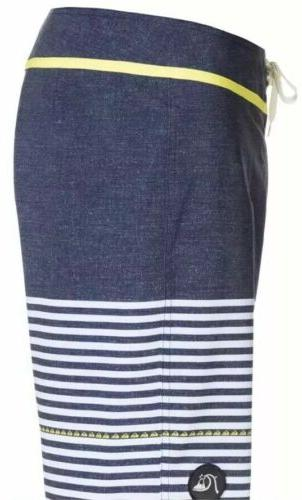NEW Quicksilver Mens Side Stripe Blue #AQYBSO3152 $59