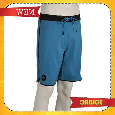 NEW* RVCA South Eastern Boardshorts Black/Blue 33