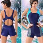 New Women monokini Swimsuit Sports Tankini One-Piece Board S