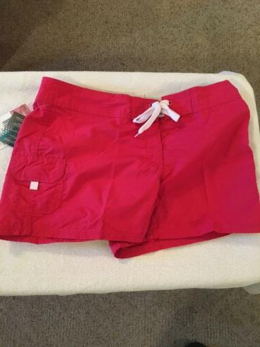 new women s breeze boardshorts raspberry size