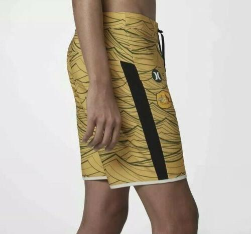 Hurley Nike National Team shorts Sz. Gold Nwt