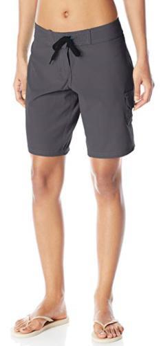 NWOT Kanu Surf Women's Marina Board Shorts Style 8101 Slate