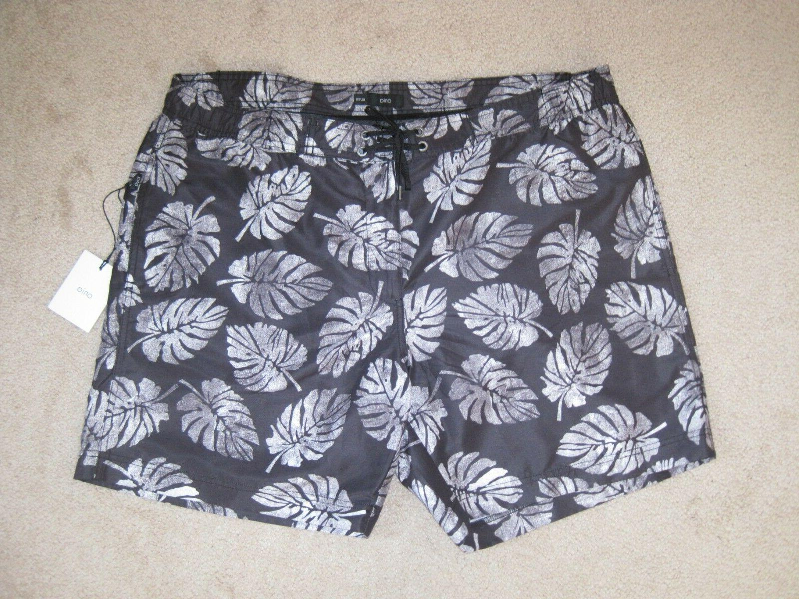 NWT 7 Inch Board Shorts, Palm Stamps, XXL