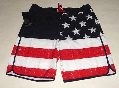 NWT AMERICAN FOURTH JULY TRUNK SHORTS size 38