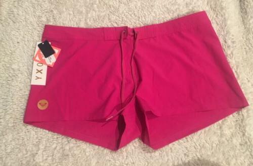 NWT Roxy Classic Swim Shorts stretch Size