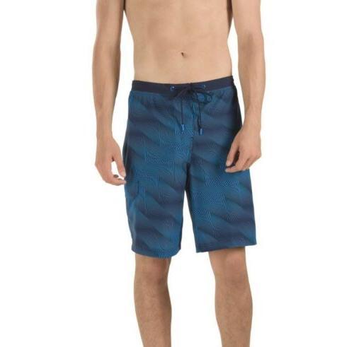 NWT Speedo Geometric 4-Way Stretch Shorts