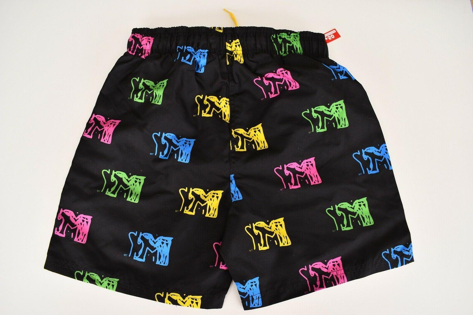 NWT Men's MTV Shorts Swim Logo STYLE