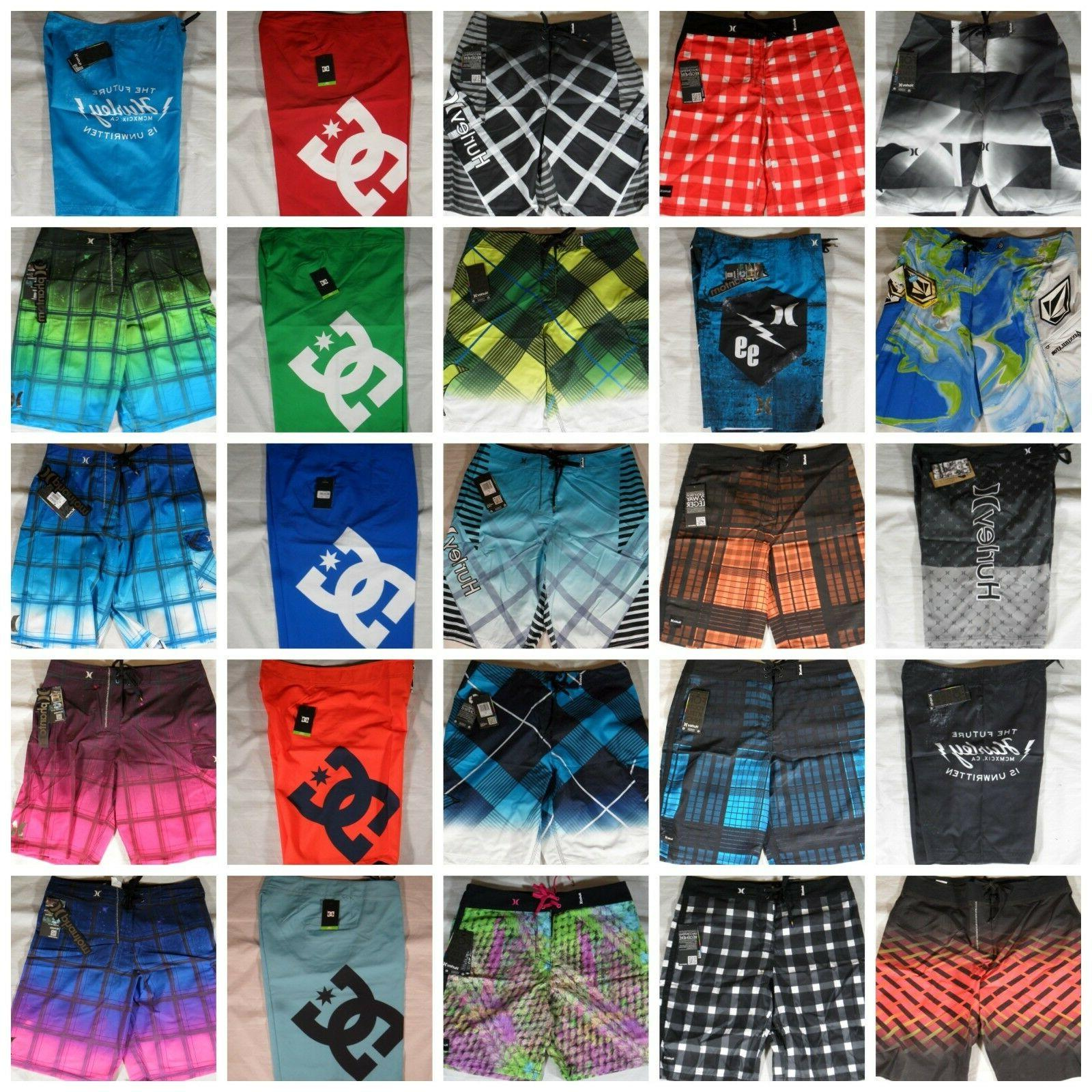 NWT Mens Hurley Volcom Swim Shorts Phantom 60