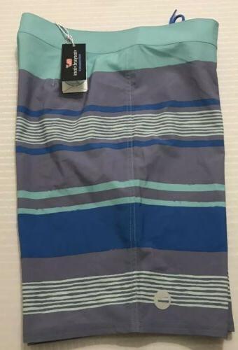 NWT Stripe Board Shorts Trunks 35