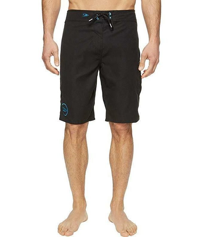 O'Neill Men's Santa Cruz Solid 2.0 Boardshorts Black Swimsui
