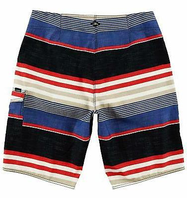 O'Neill Cruz Striped Boardshort - SZ/Color