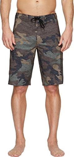 O'Neill Men's Superfreak Solid Boardshort, camo, 28