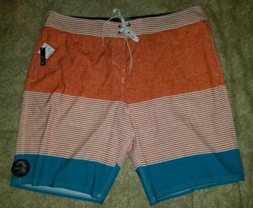 O'NEILL White, Board Shorts Santa Slim Fit NWT
