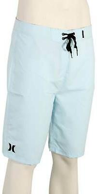 """Hurley One and Only 2.0 21"""" Boardshorts - Topaz Mist - New"""