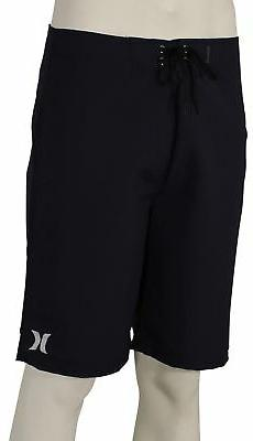 Hurley One and Only 2.0 Boardshorts - Obsidian / White - New