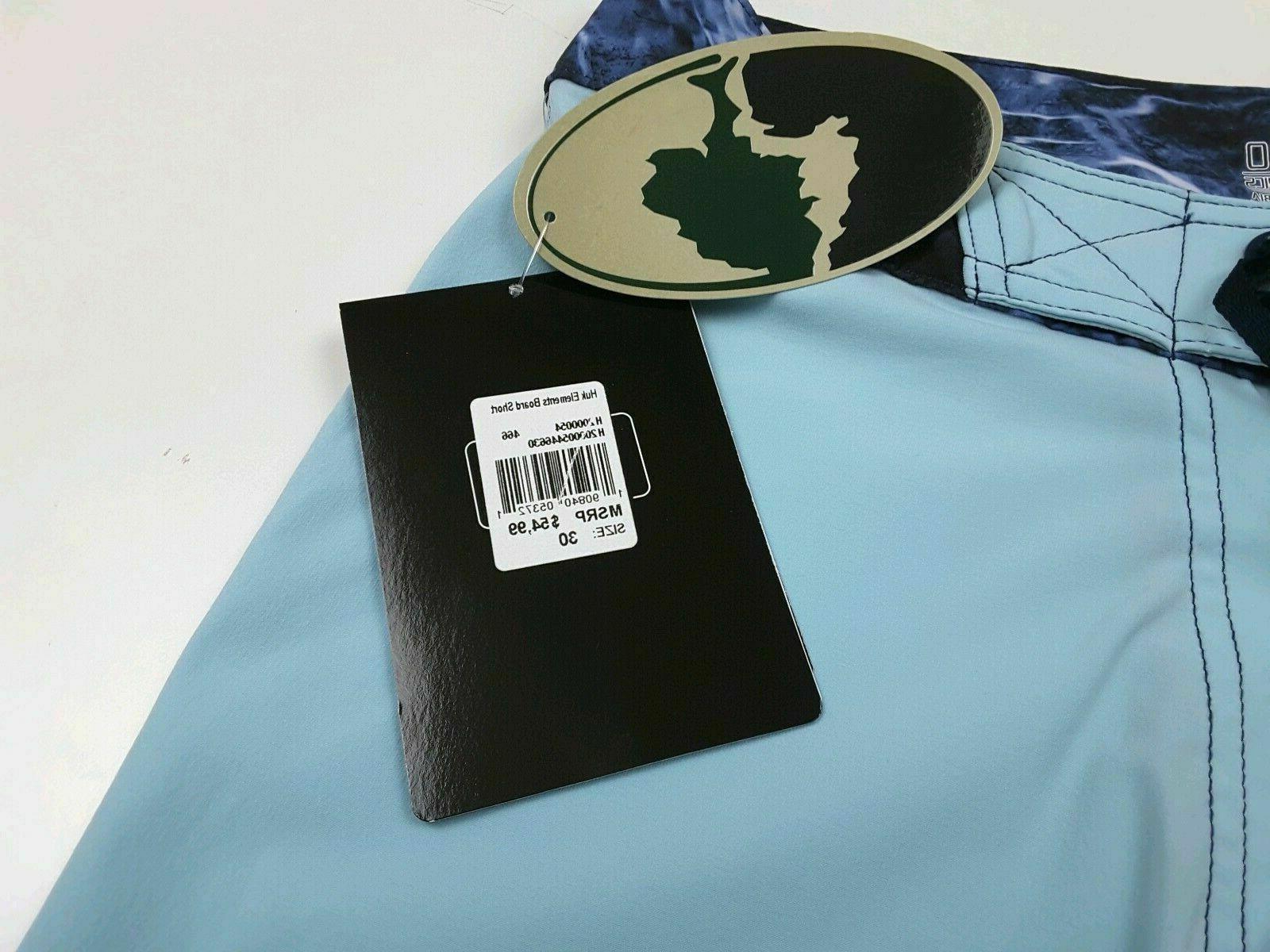 HUK Men's Elements Swim Board Mossy Bluefin 30 40