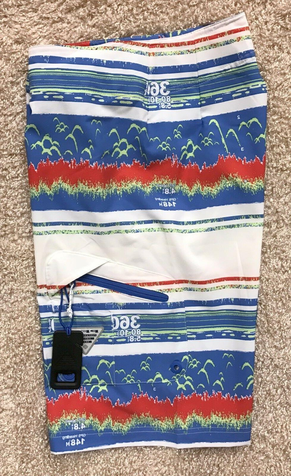 "COLUMBIA PFG BOARD SWIM 11"" INSEAM OMNI"
