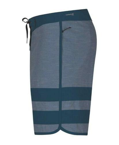 "Hurley Phantom Block 18"" Boardshorts BLUE New Size 33"