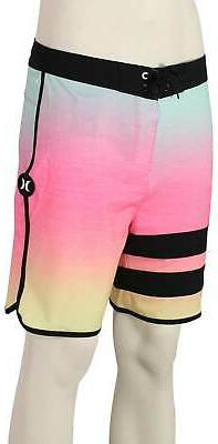 "Hurley Phantom Block Party Keep Cool 18"" Boardshorts - Digit"