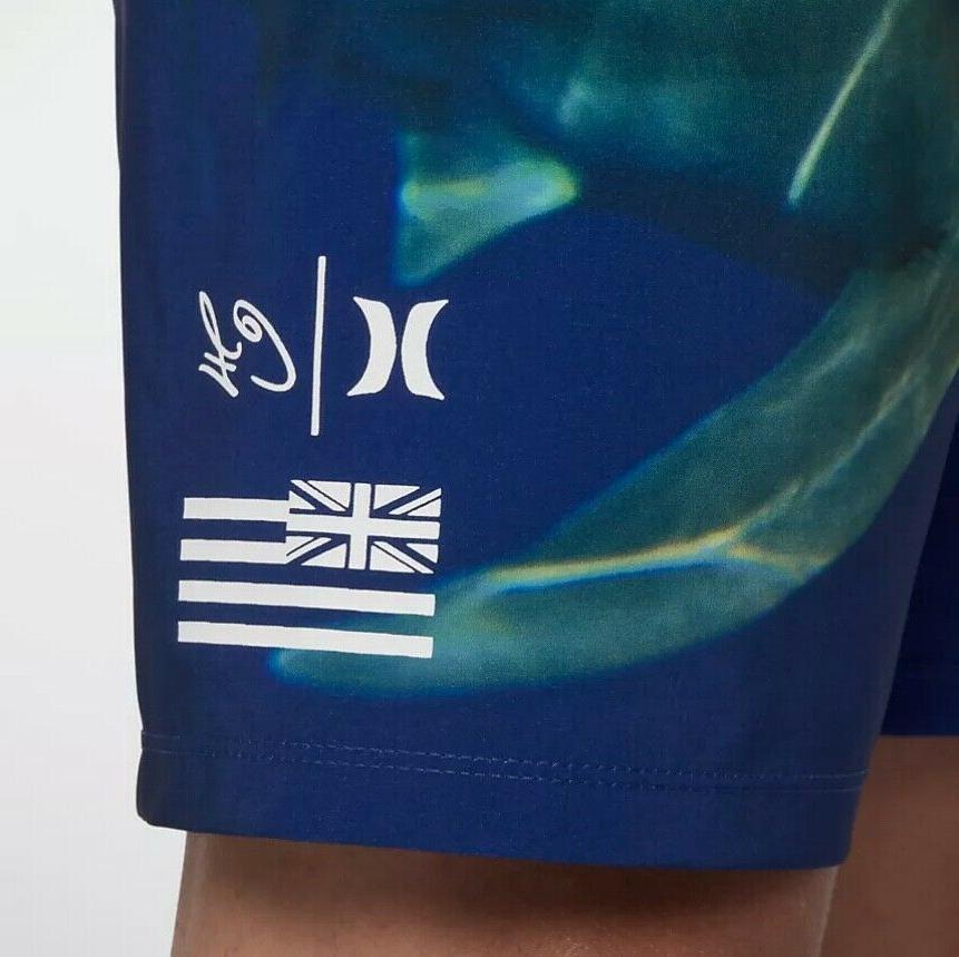 """Hurley Shark Boardshorts Artist Men's 18"""" $65 NWT"""