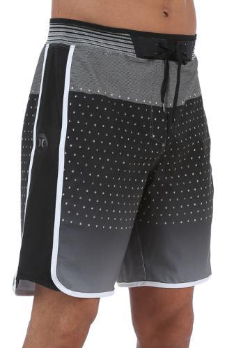 phantom hyperweave black gray 18 board shorts
