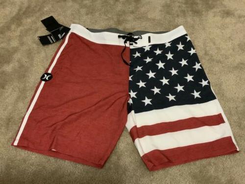 phantom patriot 20 board shorts usa flag