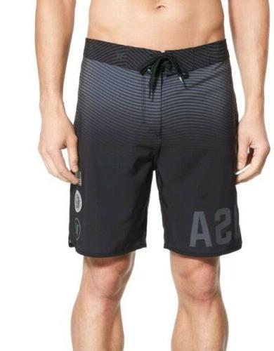 Boardshorts Shorts Black 30 reflective Surf