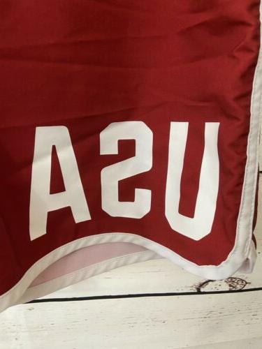 HURLEY Phantom USA Team E Unum Boardshorts Red Striped