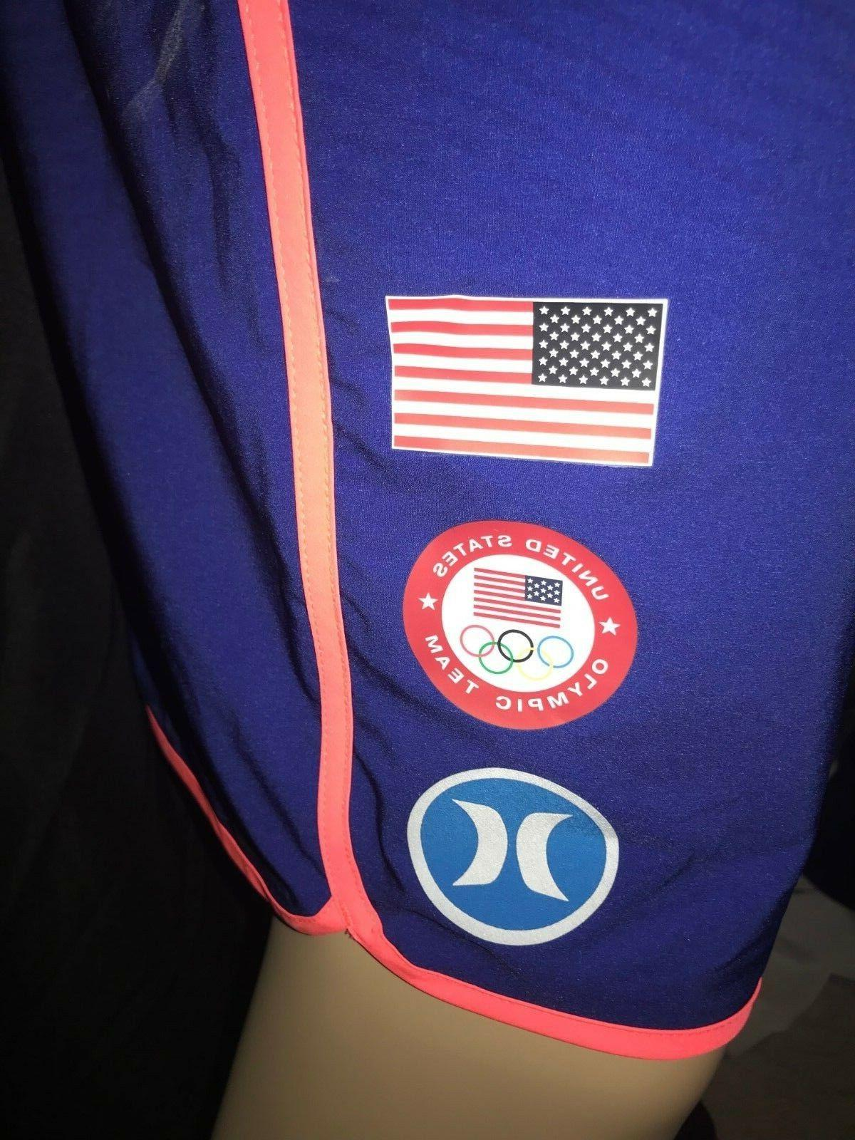Hurley USA Olympic Team Men's Blue Size 36