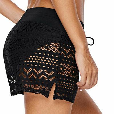 Plus Size Women Shorts Briefs Bottom Swimwear Beach Trunks