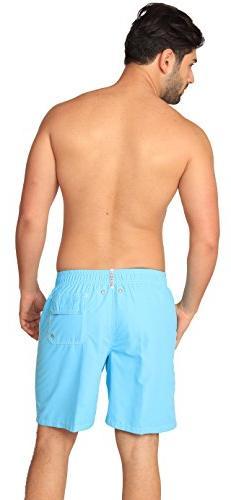Premium Men's Light Swim Trunks UPF 50+ Quick & Way