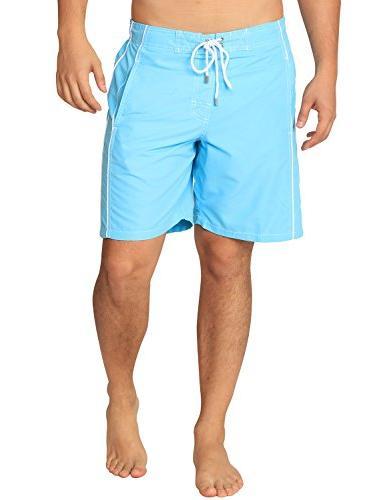 premium men s light blue swim trunks