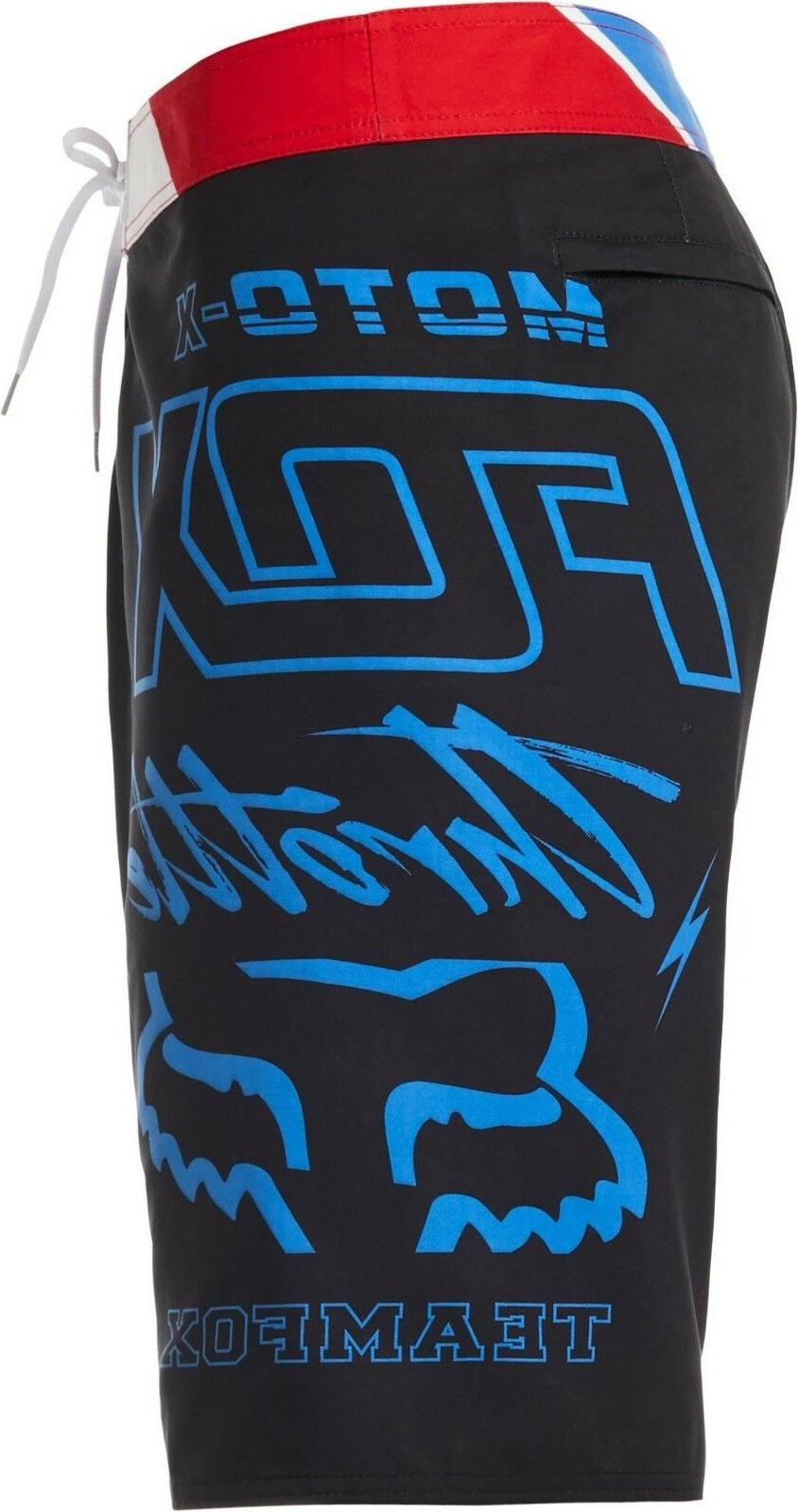 Fox Throttle Board Short Black Surf